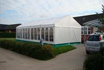 Løsning Telt & Service Udlejning, udendørs telt